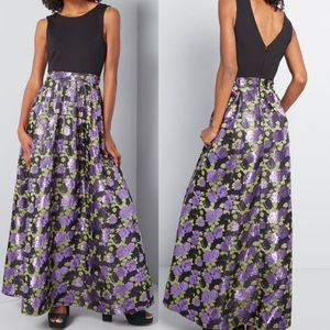 NEW ModCloth By Invitation Only Maxi Dress Small